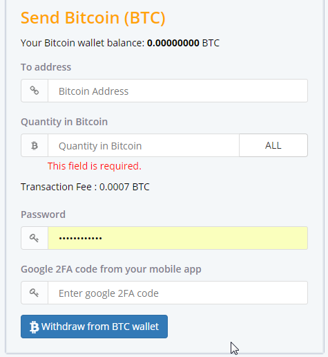 How to sell bitcoin from bitconnect quora beware that you will need to pay some transaction fee so make sure you dont do this often because you end up paying always to the exchange ccuart Choice Image