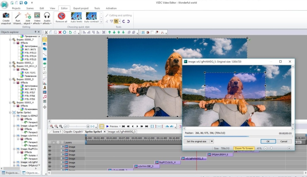 What is the best free video editing software for Windows that will