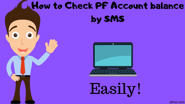 How to check my PF balance by SMS - Quora