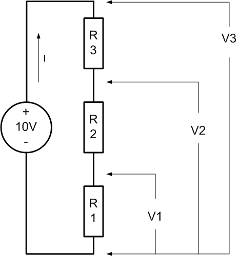 why is a series circuit called a voltage divider  moreover