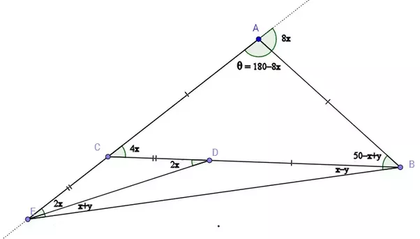 How To Find Theta In This Isosceles Triangle Quora