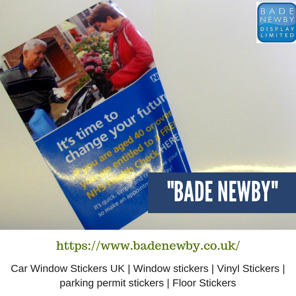 For Car Window Stickers You Will Get The Best Quality As Per My Experience So Must Consider This Uk Sticker While Ordering A