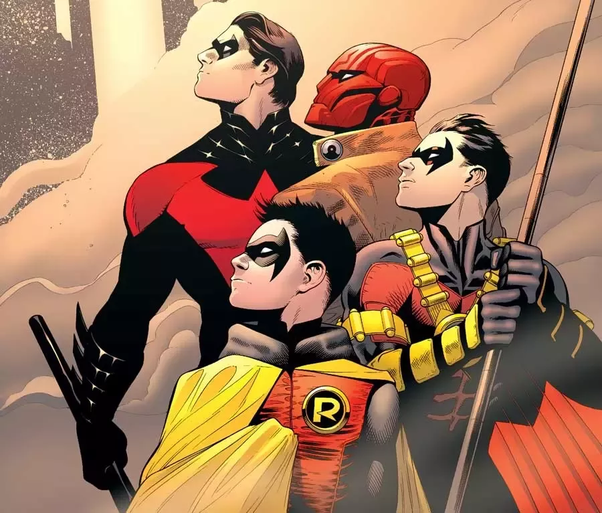 Is Robin, Redhood and Nightwing the same person? - Quora
