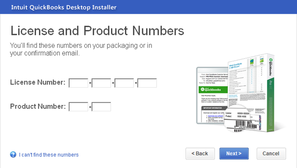 How to find out my QuickBooks license number - Quora