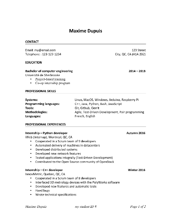 why isn t my resume getting responses for software engineering
