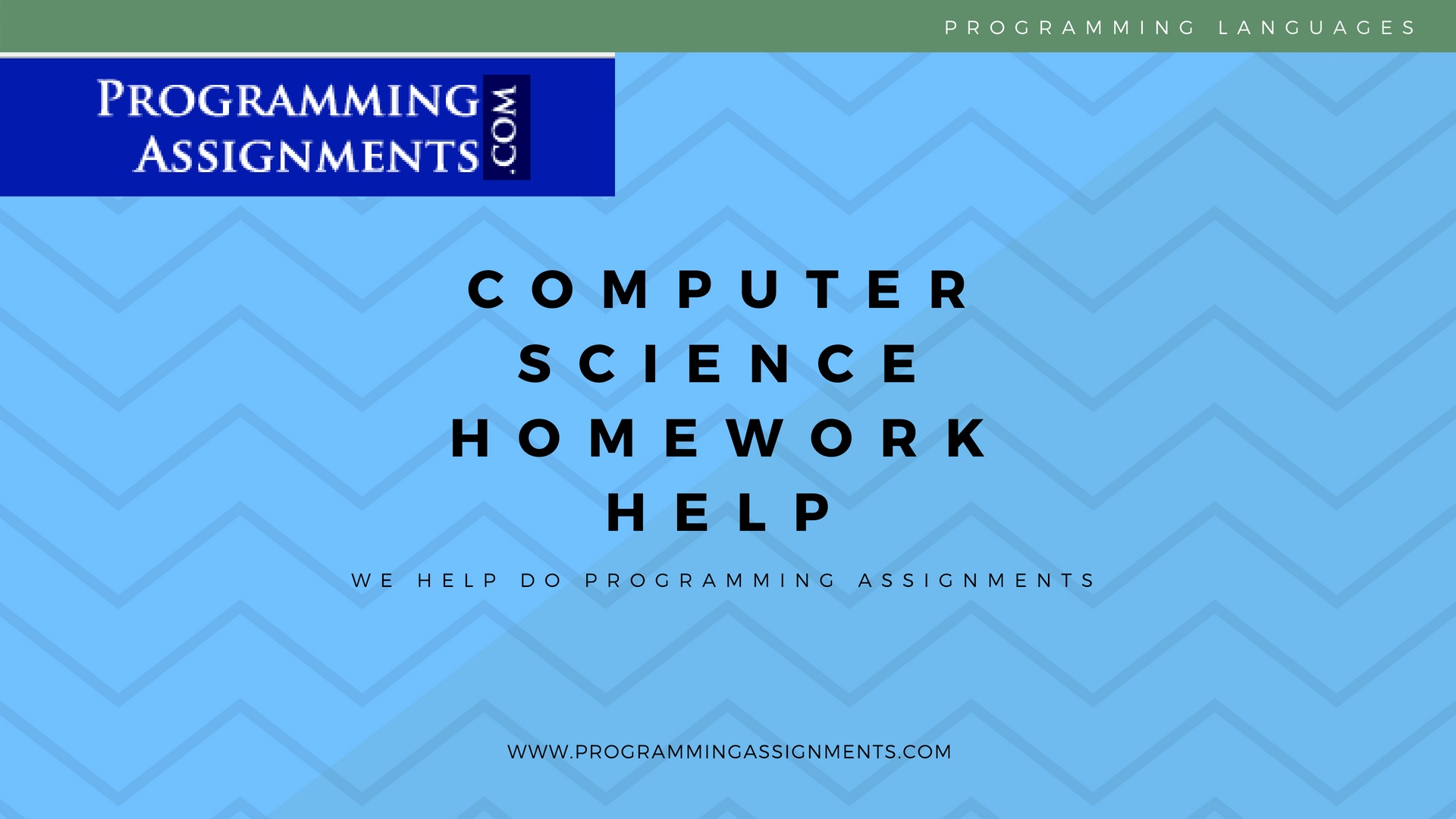computer science assignments