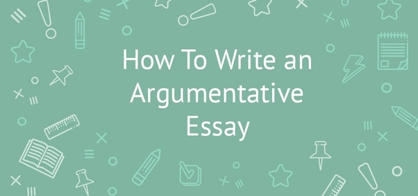 there are three parts to an argumentative essay  what are