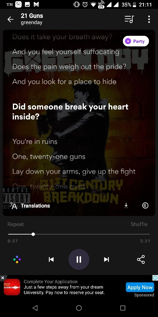 10+ Best Music App with lyrics in