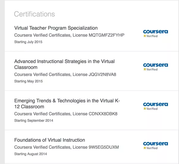 Coursera ace credit