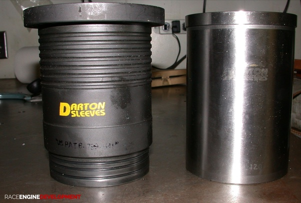 What are the materials used in making the cylinders of IC