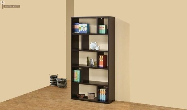 Attractive One Look At This Mahogany Specimen, And You Will Realize How A Designer  Bookshelf Can Change The Entire Ambiance Of Your Room.