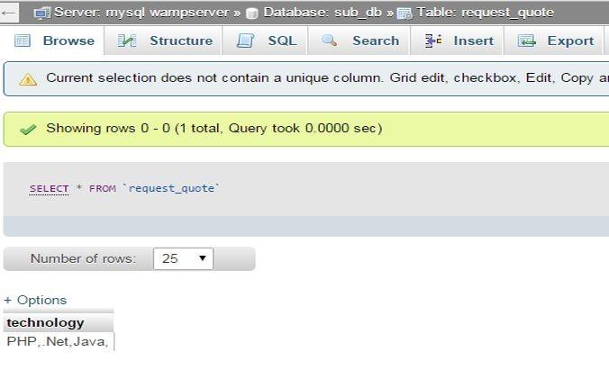 How to insert data in database using checkbox in php - Quora