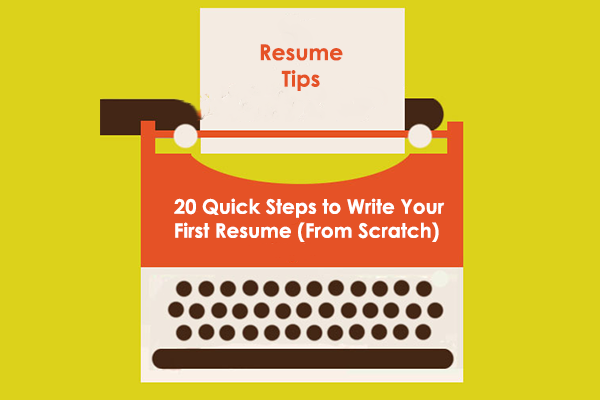 a must read on resume writing especially for students writing their first resume