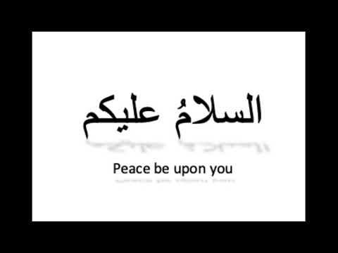 Alaikum urdu salam in Urdu Greetings