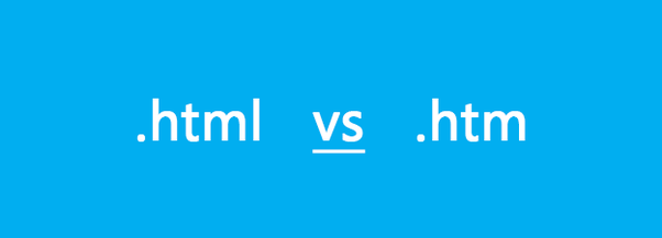 What is the difference between a .html and a .htm page? - Quora