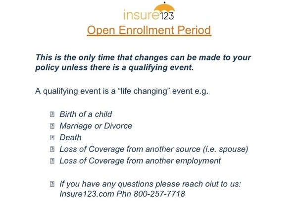 Why do open enrollment periods exist for health insurance ...