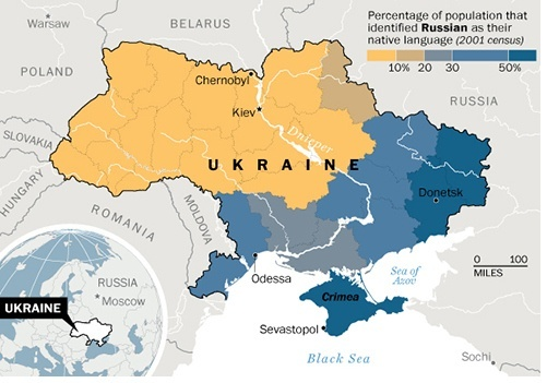 What exactly is the ukraine crisis how did it start quora and the people of eastern ukraine mostly speak russian and hence identify themselves with russians recent history gumiabroncs Images