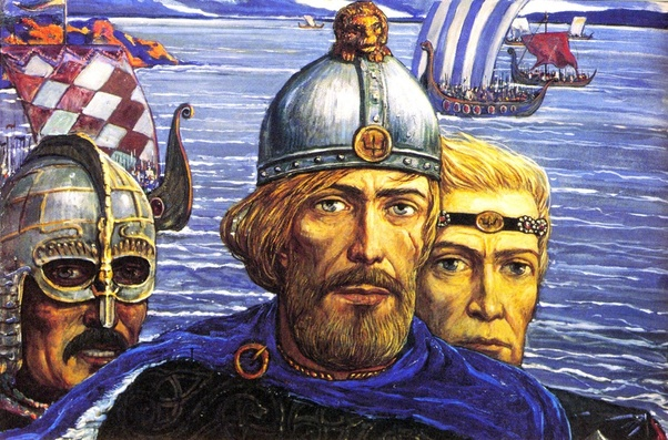 Are Russians descendants of Vikings? I always thought they were ...