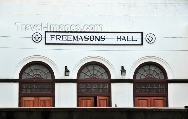 Where is the Freemason Grand Lodge in Dar es Salaam, and what are