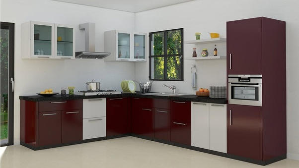 what is the best color combination for kitchen cabinets with black