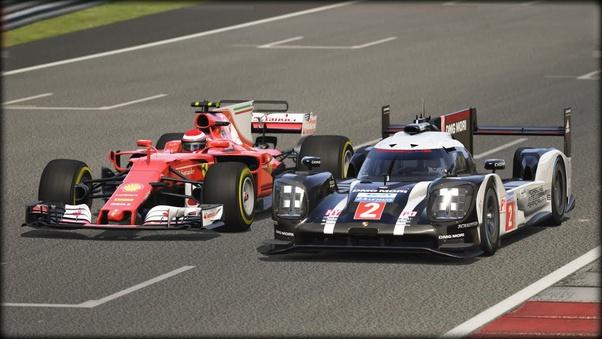 Which Car Is Faster A Modern F1 Car Or A Lmp1 Car Quora