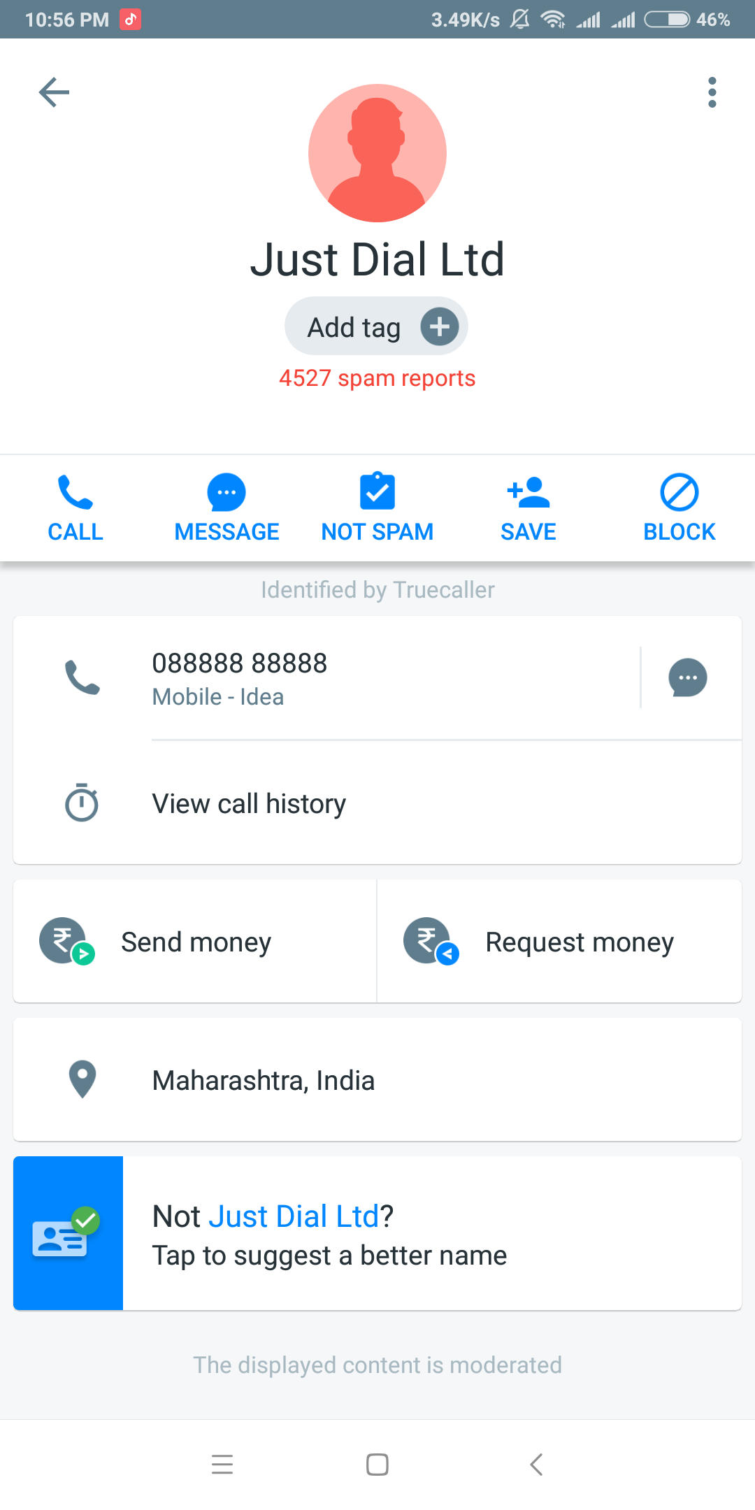 Whose phone number is 888-888-8888? - Quora