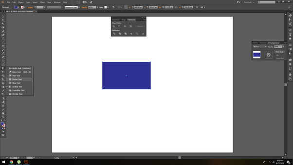 Is there a way to smudge/liquify in Adobe Illustrator like
