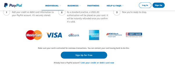 Hook Up Debit Card To Paypal
