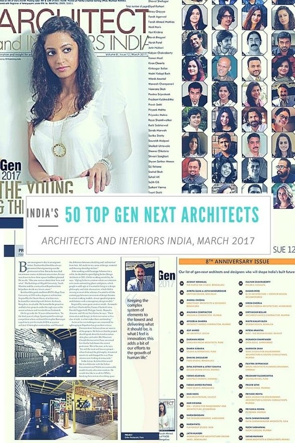 Who are the best architects in pune quora for Architecture firms for internship in pune