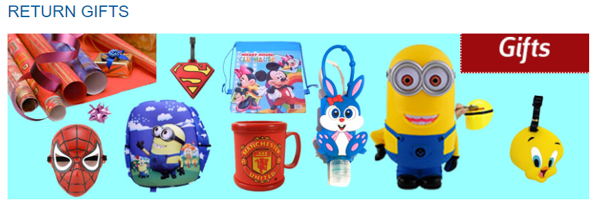 They Have The Most Amazing And Unique Return Gifts Idea Like Best Online For Kids Birthday Party India With Very