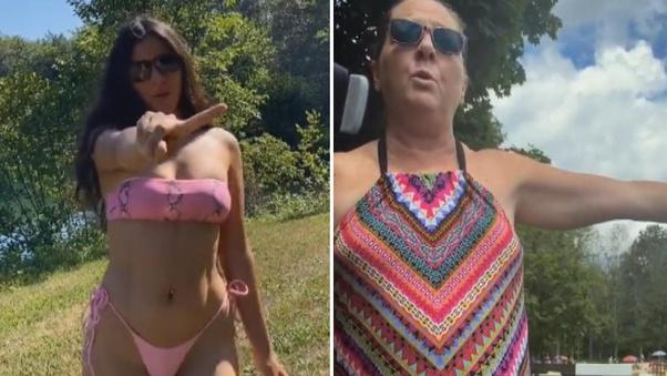What Is The Tiktok Bikini Karen Viral Video Quora