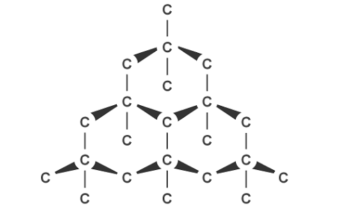 if diamond is a covalent compound  why does it have a high