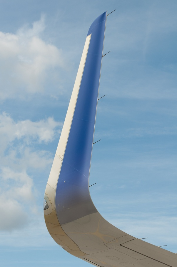 What is the main difference between the winglets on the