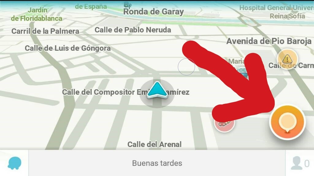 How does the Waze driving app adjust its plotted locations