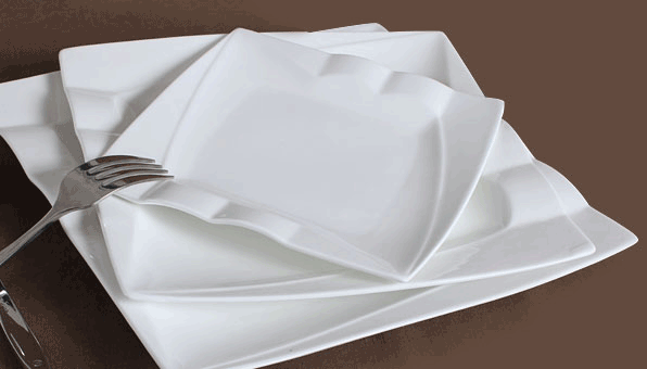As platesthere are many others shape like squarerectangularoval and other irregular shape.especially the white ceramic plates using in the hotel and ... & Why are plates usually round? - Quora