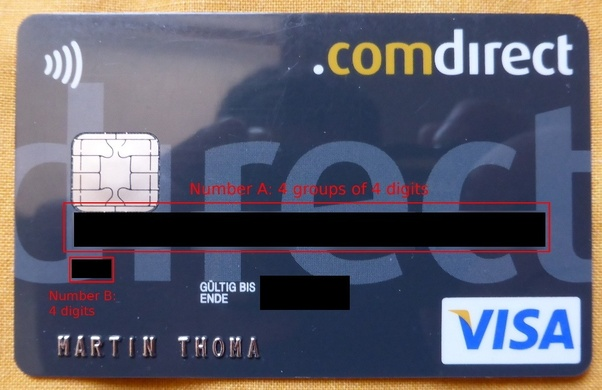 What Do The Numbers On A Debit Card Mean Quora