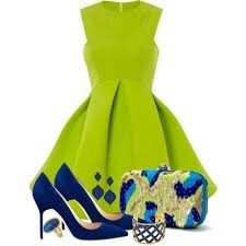 What Colour Accessories Could I Wear With A Lime Green Dress