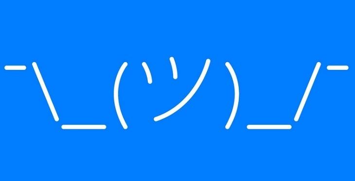 What is the best 'shrug' emoticon? - Quora