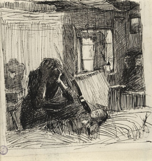 What Are Some Examples Of Sad Paintings Made By Famous Artists