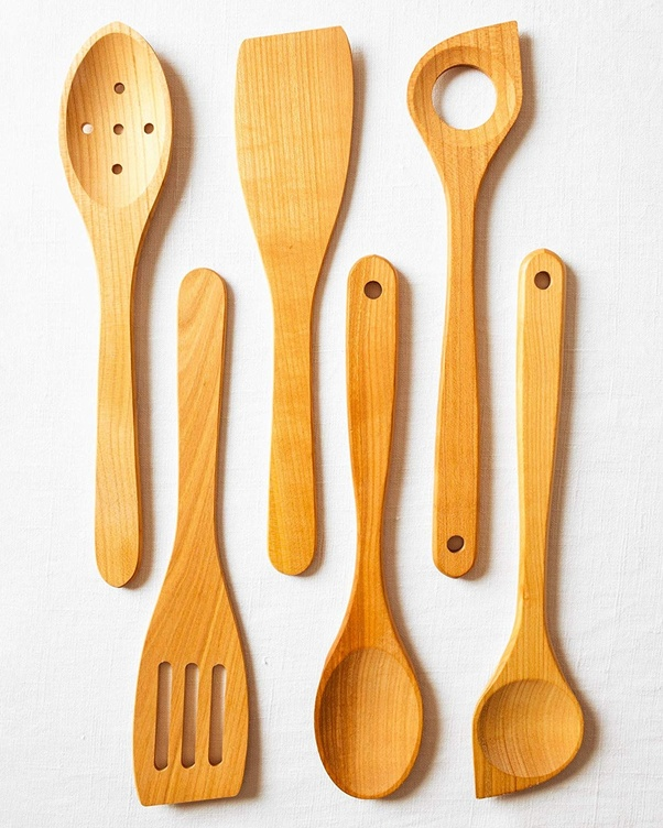 Are wooden cooking utensils safe to use? - Quora