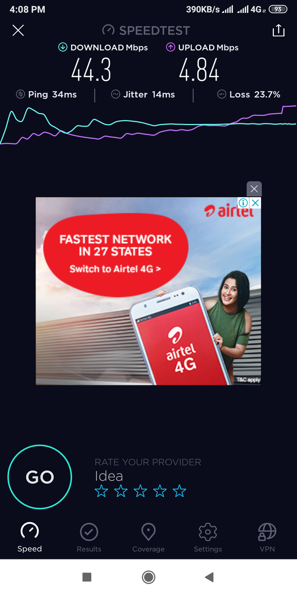 How satisfied are you with 4G mobile internet speed in India? - Quora