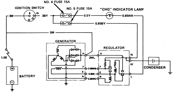 Alternator Wiring Diagram External Regulator : Why does an alternator fail quora