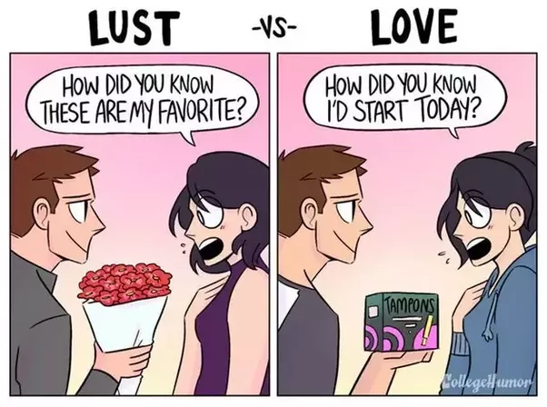 The Difference Between Making Love And Lust