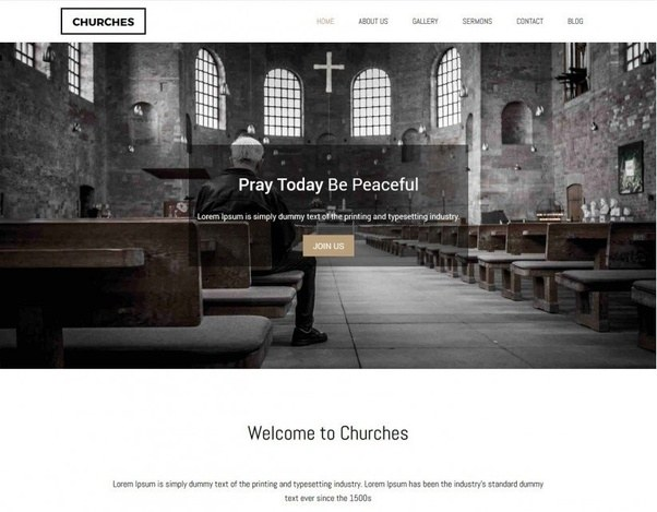 What are the best free WordPress themes for a church website? - Quora