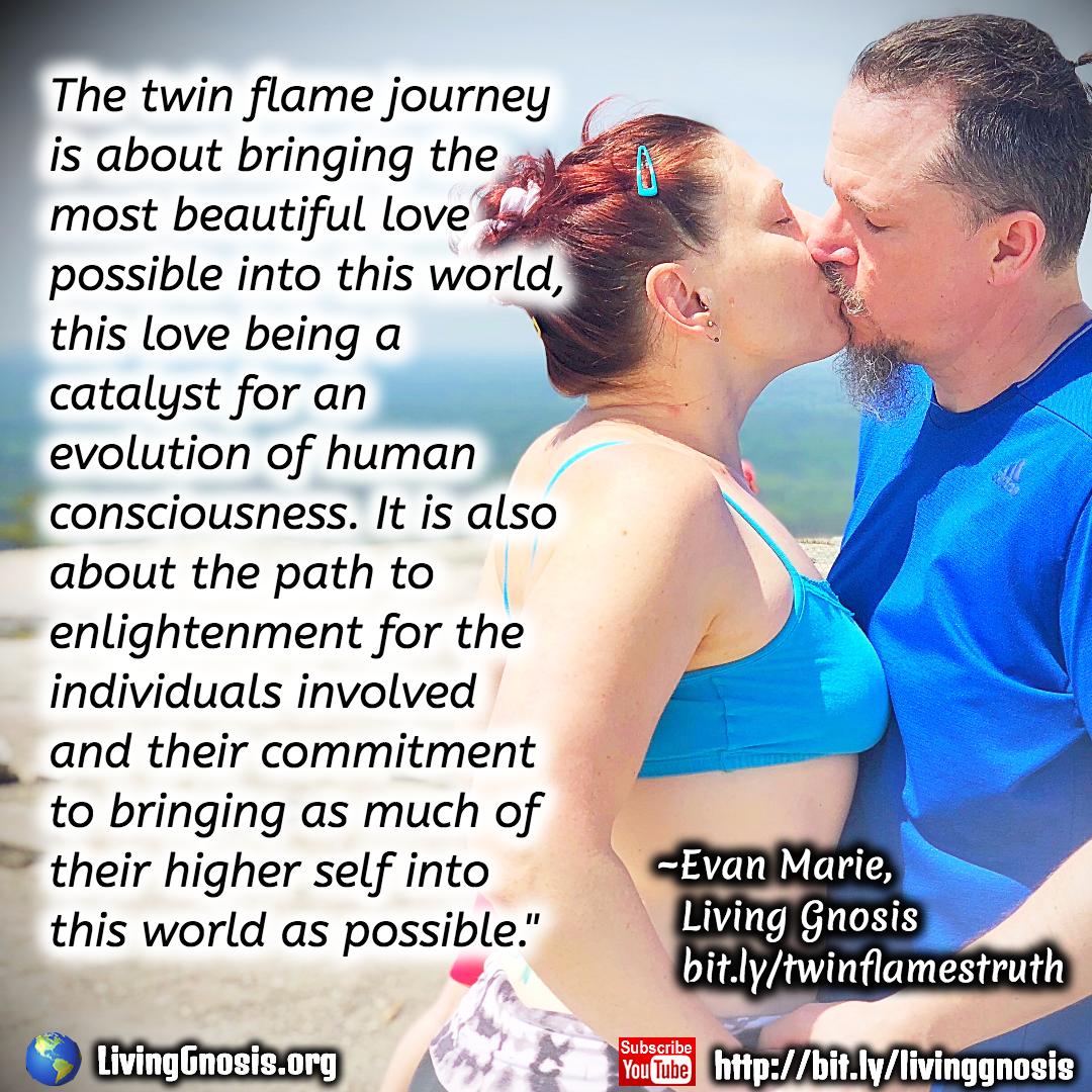 Twin love when flames make Twin Flames: