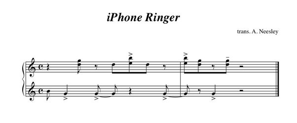 can i play music as a ringtone on my iphone