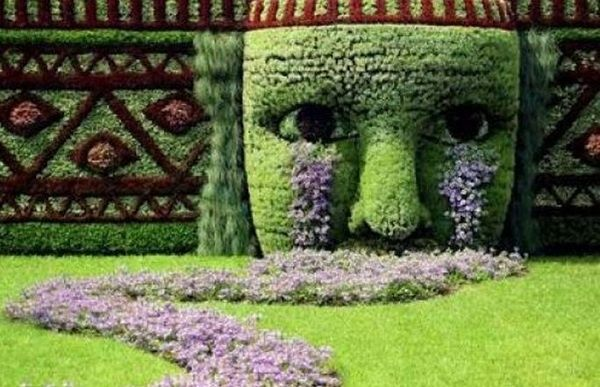 I Really Wanted To Do Something Creative In My Garden But Found It  Difficult To Find A Design That Would Work For My Small Garden.