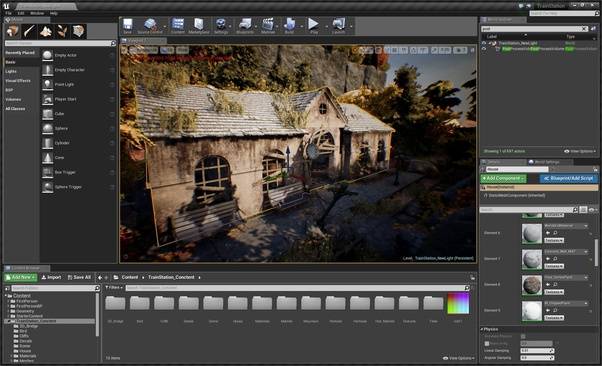 What is the better graphics engine: Unreal 4, Unity or