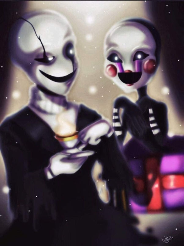 What Would Make One Infatuated With The Puppet From Fnaf Or W D Gaster From Undertale Quora