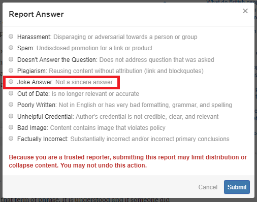 Will Quora ban me if I give funny answers to serious questions? - Quora